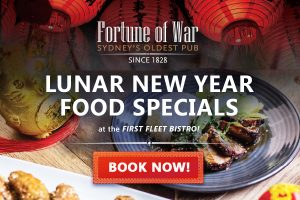 Lunar New Year Food Specials at Fortune of War